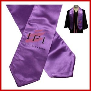 Graduation Screen Print Stole